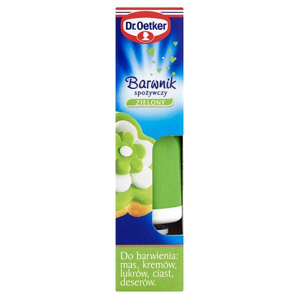 Dr. Oetker Barwnik spożywczy zielony 10 g