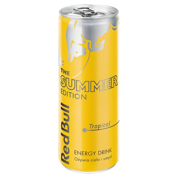 Red Bull Napój energetyczny owoce tropikalne 250 ml