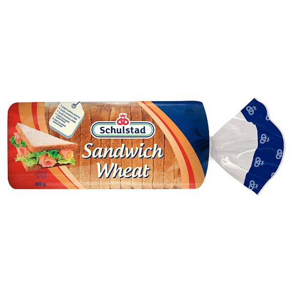 Schulstad Chleb tostowy pszenny 800 g