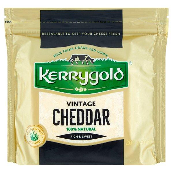 Kerrygold Ser irlandzki Vintage Cheddar 200 g