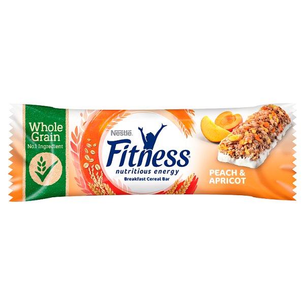 Nestlé Fitness Peach & Apricot Batonik zbożowy 23,5 g