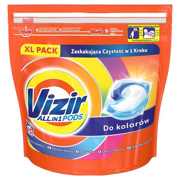 Vizir Allin1 Color Kapsułki do prania, 45prań