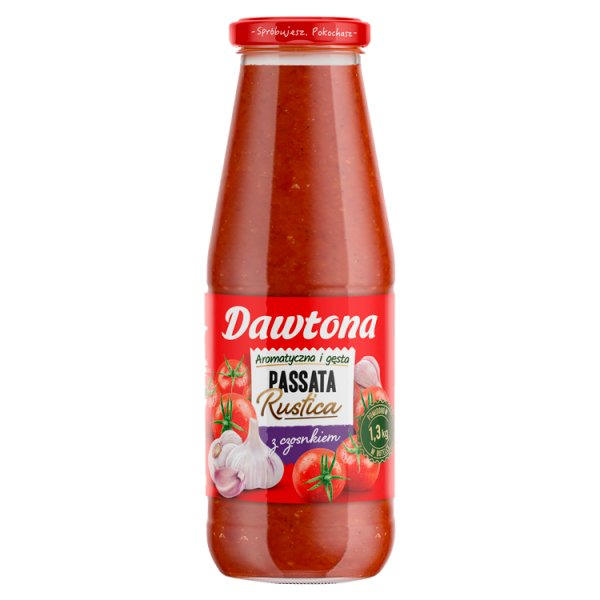 Dawtona Passata Rustica z czosnkiem 690 g