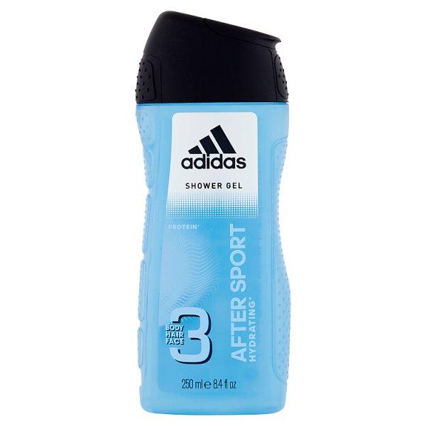 Adidas After Sport Żel pod prysznic dla mężczyzn 250 ml