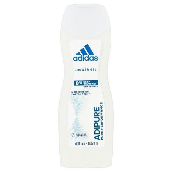 Adidas Adipure Żel pod prysznic dla kobiet 400 ml