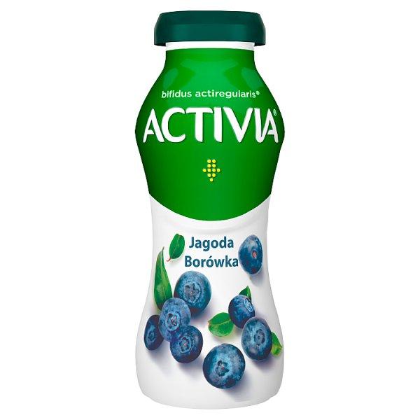 Danone Activia Jogurt jagoda borówka 195 g