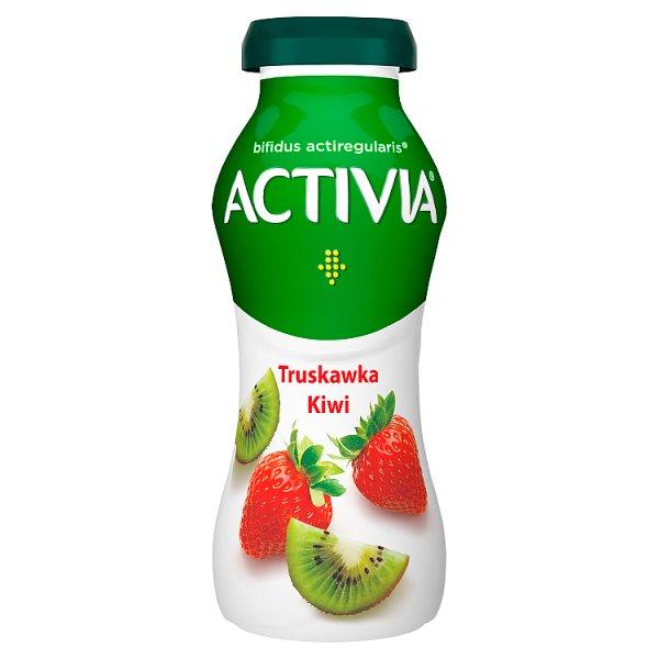 Danone Activia Jogurt truskawka kiwi 195 g