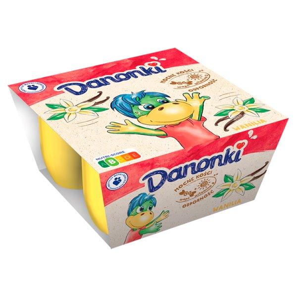 Danone Danonki Twarożek wanilia 200 g (4 x 50 g)