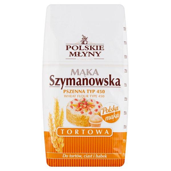 Polskie Młyny Mąka Szymanowska Tortowa pszenna typ 450 1 kg