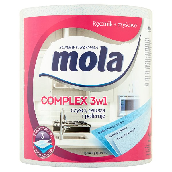 Mola Complex 3w1 Ręcznik papierowy