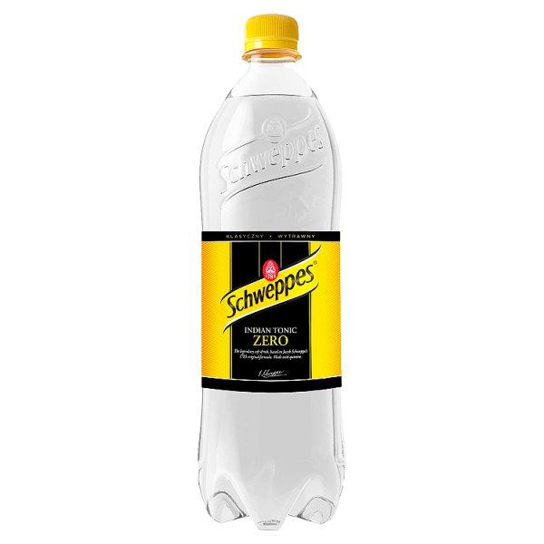 Schweppes Indian Tonic Zero Napój gazowany 0,9 l