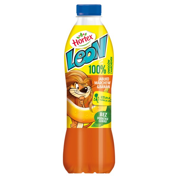 Hortex Leon Sok jabłko marchew banan 1 l
