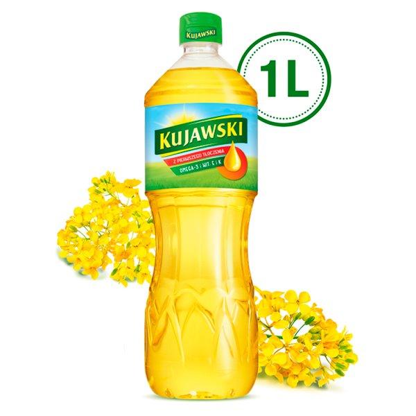 Kujawski Olej rzepakowy z pierwszego tłoczenia 1 l