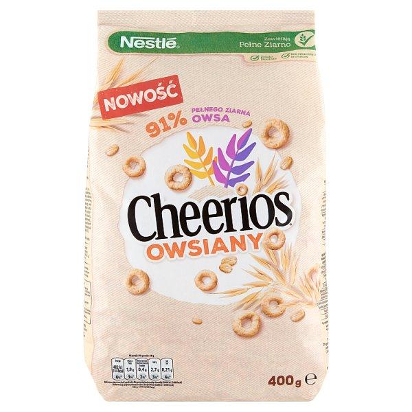 Nestlé Cheerios Owsiany Płatki śniadaniowe 400 g