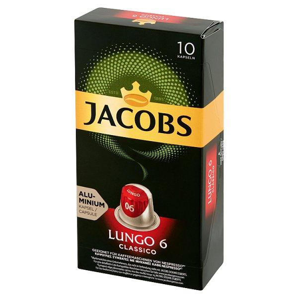 Jacobs Lungo Classico Kawa mielona w kapsułkach 52 g (10 sztuk)