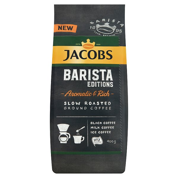 Jacobs Barista Editions Aromatic & Rich Kawa mielona wolno palona 400 g