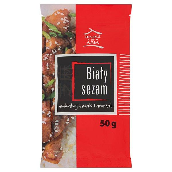 House of Asia Biały sezam 50 g
