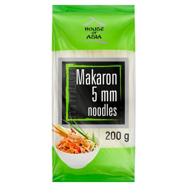 House of Asia Bezglutenowy makaron ryżowy 5 mm 200 g