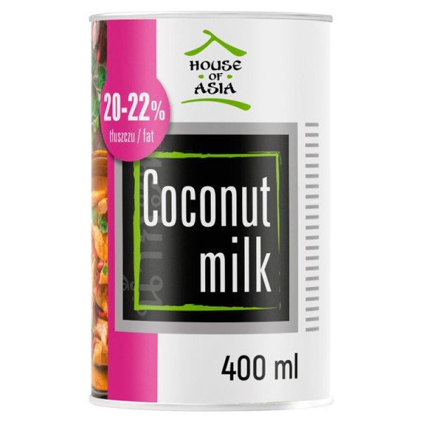House of Asia Mleczko kokosowe BIO 20-22% 400 ml