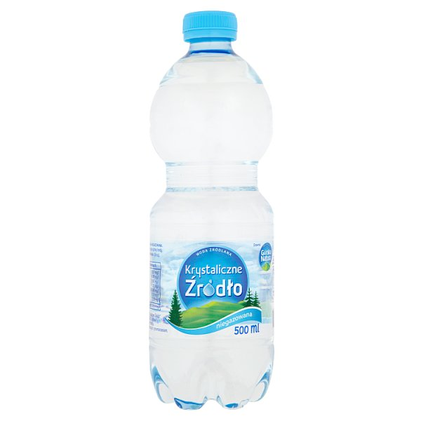 Krystaliczne Źródło Woda źródlana niegazowana 500 ml