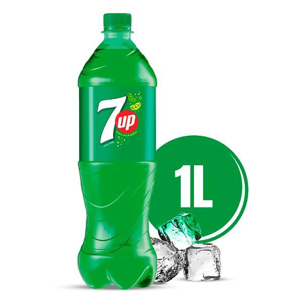 7UP Napój gazowany 1 l