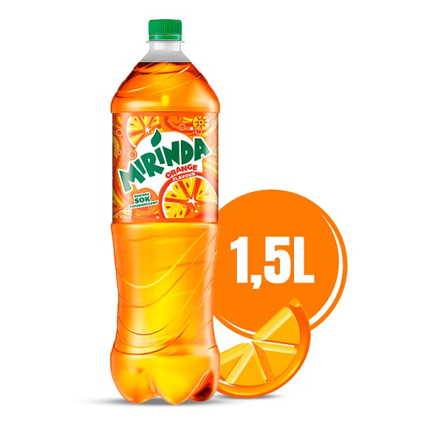 Mirinda Orange Napój gazowany 1,5 l