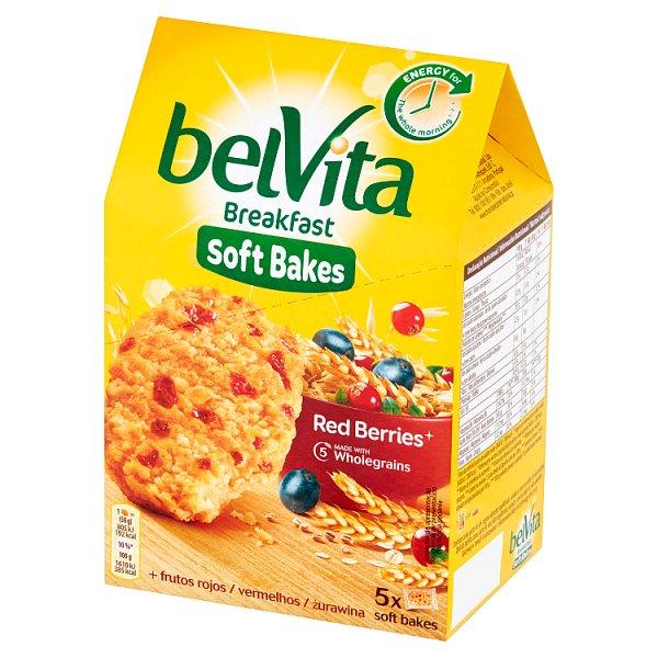 belVita Breakfast Ciastka zbożowe z żurawiną i rodzynkami 250 g