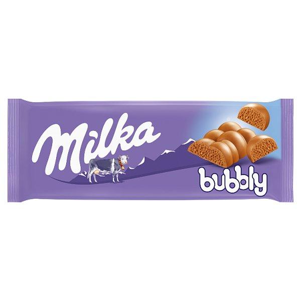 Milka Czekolada mleczna Bubbly 90 g