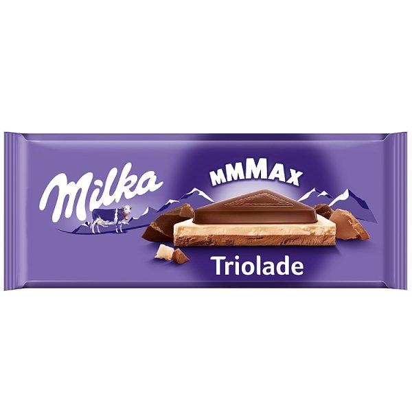 Milka Mmmax Czekolada mleczna Triolade 280 g