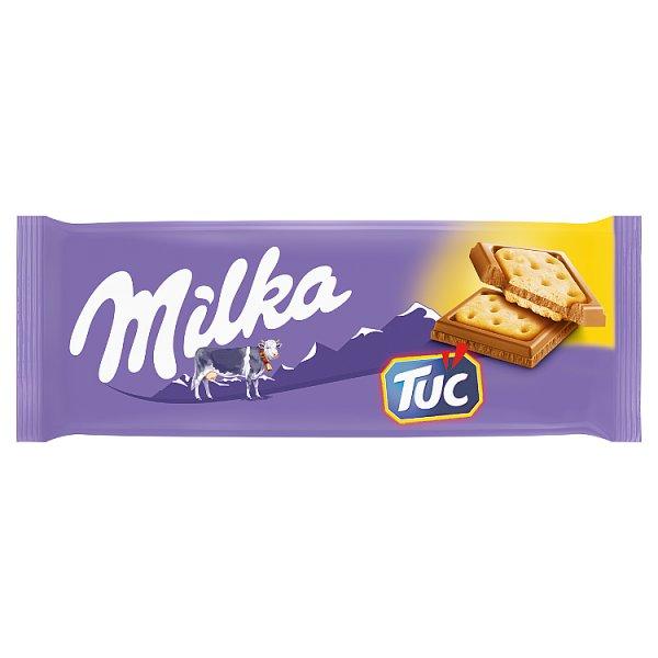 Milka Czekolada mleczna Tuc 87 g