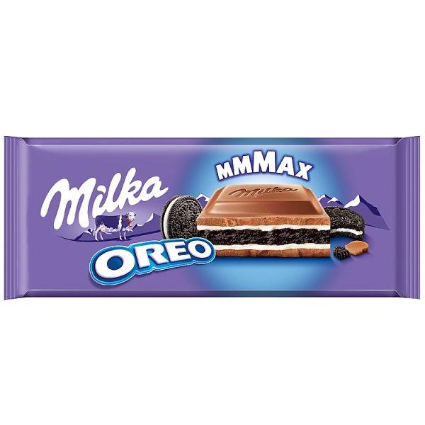 Milka Mmmax Herbatniki kakaowe i mleczne Oreo 300 g