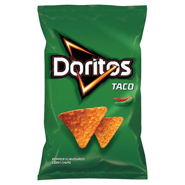 Doritos Taco Chipsy kukurydziane o smaku paprykowym 100 g