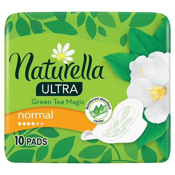 Naturella Ultra Normal Green Tea Magic Podpaski x10