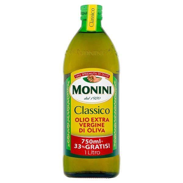 Monini Classico Oliwa z oliwek najwyższej jakości z pierwszego tłoczenia 1000 ml