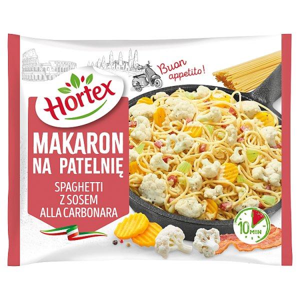 Hortex Makaron na patelnię spaghetti z sosem alla carbonara 450 g