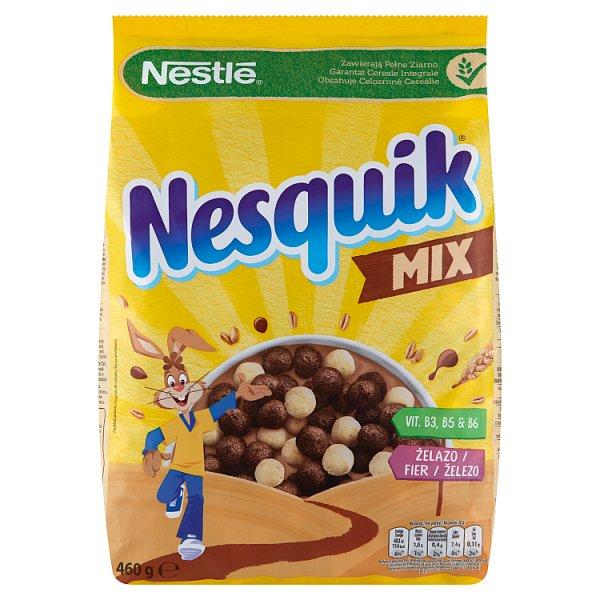 Nestlé Nesquik Mix Płatki śniadaniowe 460 g