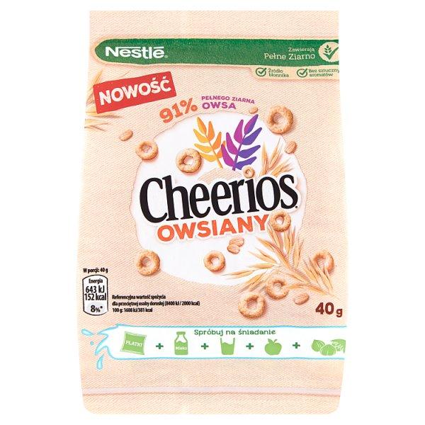 Nestlé Cheerios Owsiany Płatki śniadaniowe 40 g