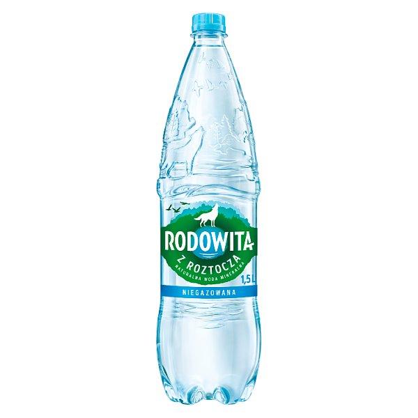 Rodowita z Roztocza Naturalna woda mineralna niegazowana 1,5 l