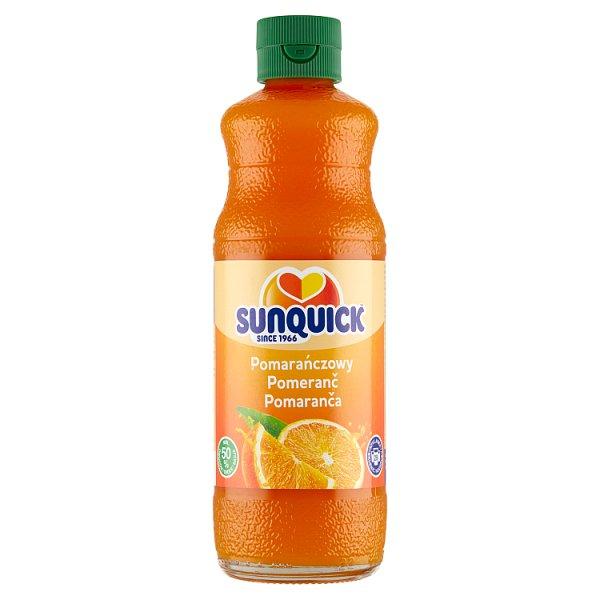 Sunquick Koncentrat napoju pomarańczowy 580 ml