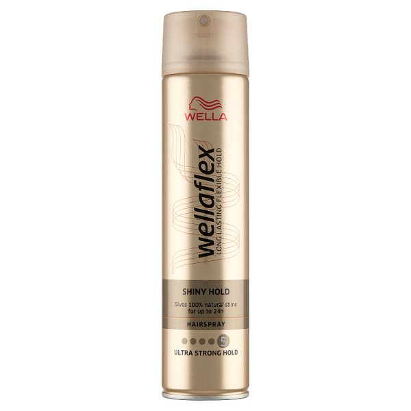 Wella Wellaflex Shiny Hold Lakier do włosów 250 ml