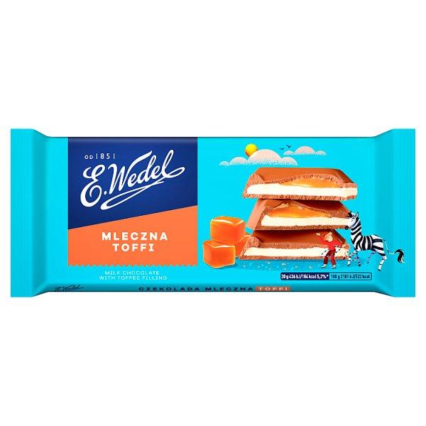 E. Wedel Czekolada mleczna toffi 100 g