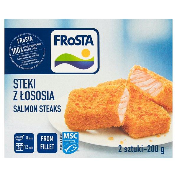 FRoSTA Steki z łososia 200 g (2 sztuki)