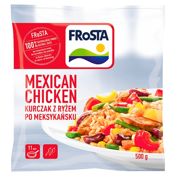 FRoSTA Mexcican Chicken Kurczak z ryżem po meksykańsku 500 g
