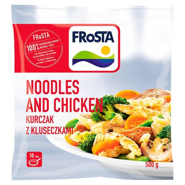 FRoSTA Noodles and Chicken Kurczak z kluseczkami 500 g