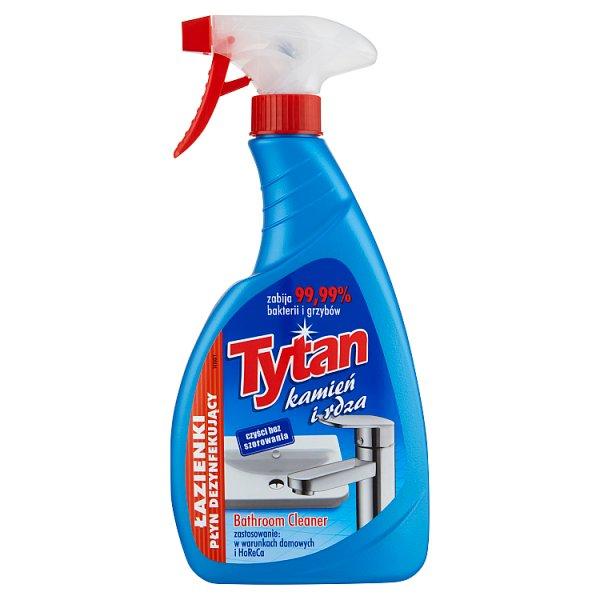 Tytan Płyn dezynfekujący w sprayu do łazienki kamień i rdza 500 g