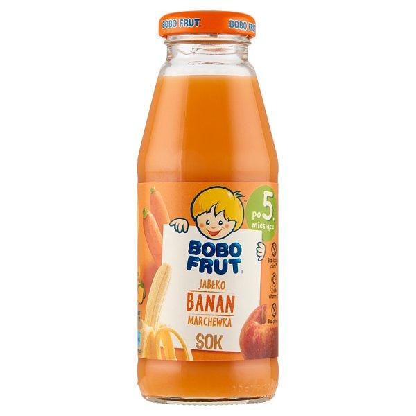 Bobo Frut Sok jabłko banan marchewka po 5. miesiącu 300 ml