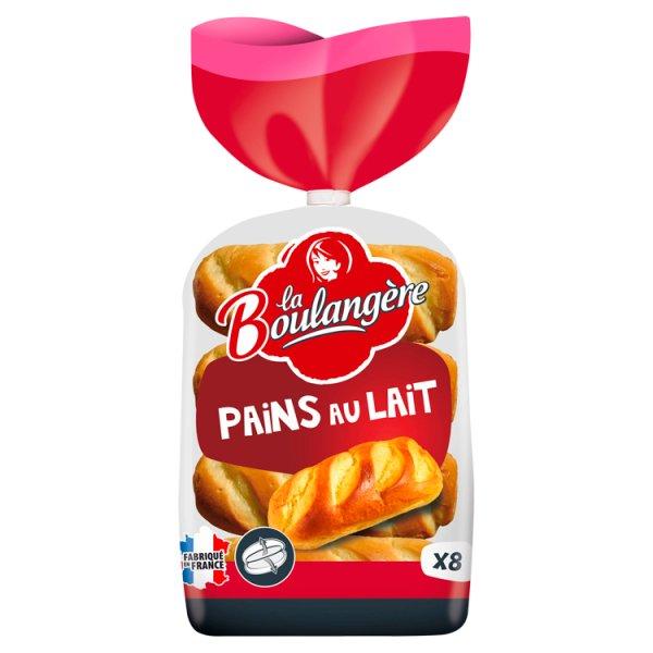 La Boulangère Bułki mleczne rozcięte 280 g (8 sztuk)