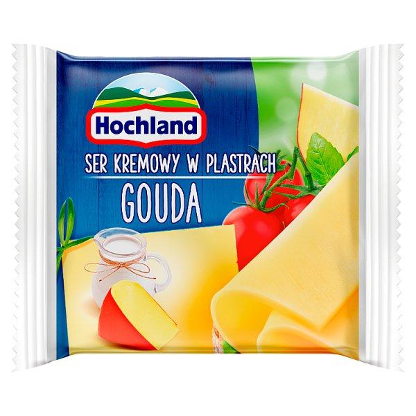 Hochland Ser kremowy Gouda w plastrach 130 g