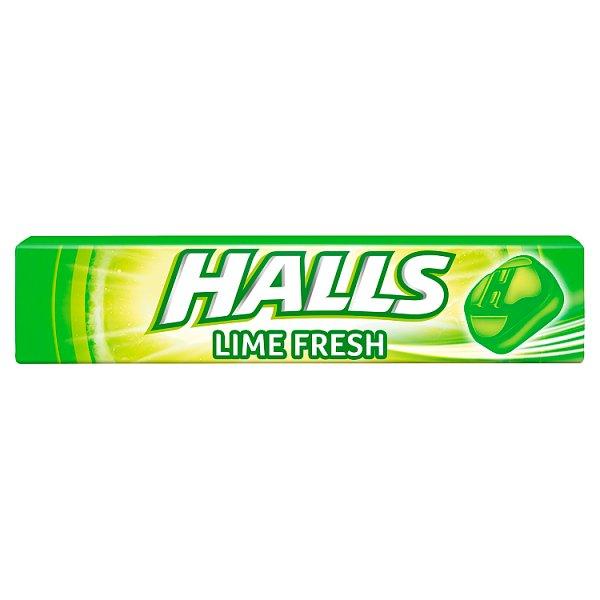 Halls Lime Fresh Cukierki 33,5 g