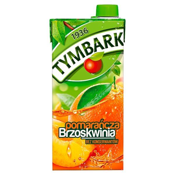 Tymbark Napój pomarańcza brzoskwinia 1 l